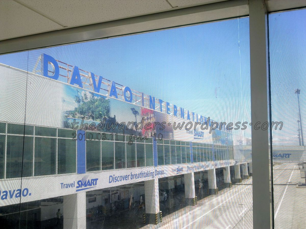 Francisco Bangoy International Airport aka Davao Airport (arrival)