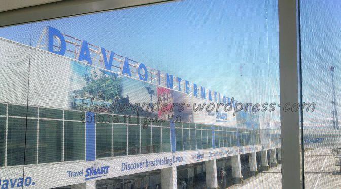 Francisco Bangoy International Airport aka Davao Airport (arrival)