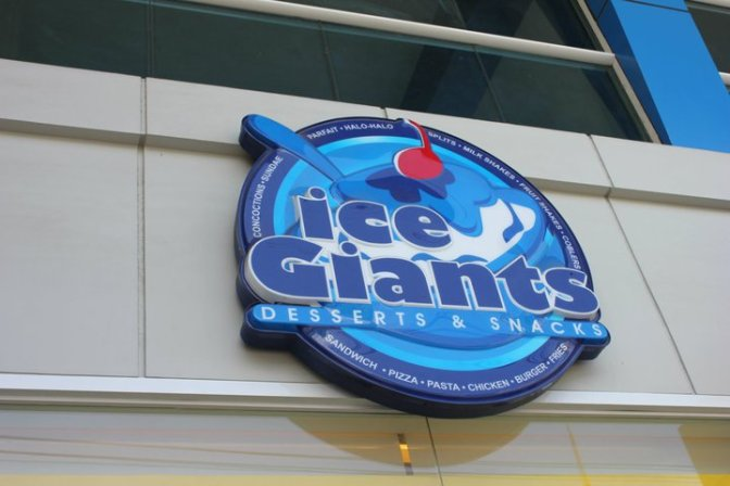 Dine Out Davao: Ice Giants, a ton of delight awaits!
