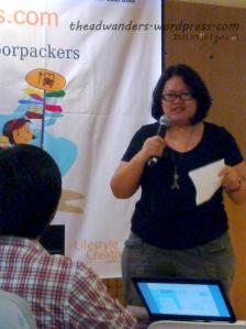 Nina Fuentes of JustWandering.org
