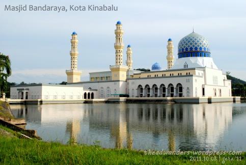 Masjid Bandaraya from the road side