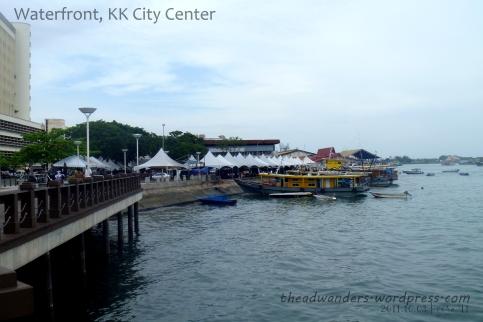 Waterfront Area, KK City Center