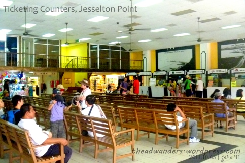 Ticketing Counters and Passenger Waiting Area