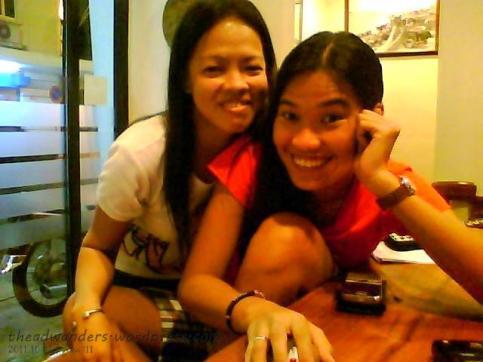 Sensi Lobby with Ate Tita (Pinay staff!)