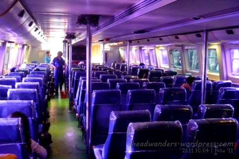 2x3x2 per row seats at the Economy deck