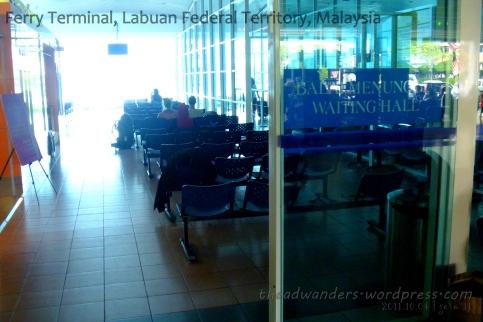 Waiting area inside hall