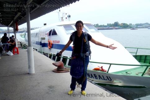 Kinabalu Express from Labuan to Brunei