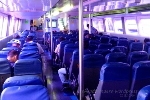 Inside the Kinabalu Express (Economy!)