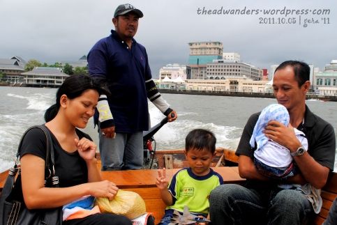 Water Taxi ride with Kampong Ayer residents
