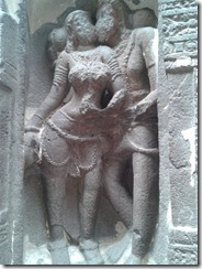 Intimate Couples at Kailash Temple