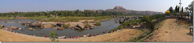 Across the River - Hampi