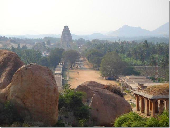 Towering Virupaksha Temple - Hampi