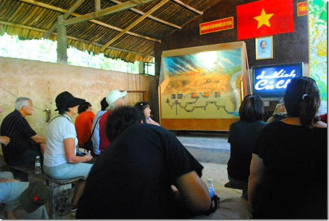 Backpacking SEA Vietnam Cu Chi Tunnels - Orientation