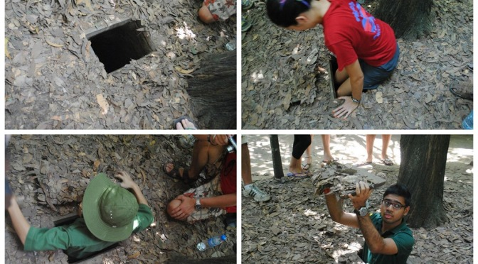 Backpacking South East Asia: Vietnam – Cu Chi Tunnels Tour