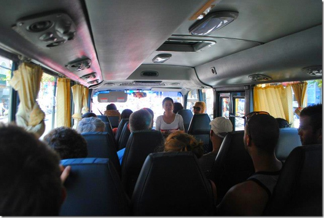 Backpacking SEA Vietnam Cu Chi Tunnels - The Tour Bus