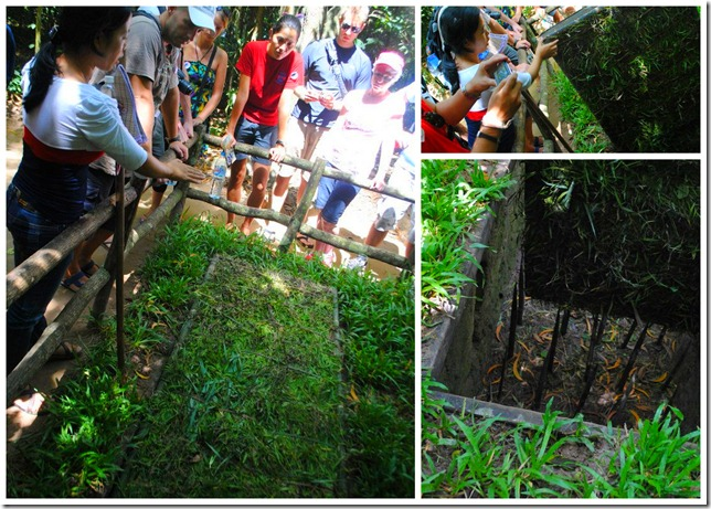 Backpacking SEA Vietnam Cu Chi Tunnels - Traps