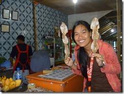 Capiz - Seafood Capital - Inihaw na Daing na Pusit