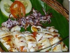Capiz - Seafood Capital - Inihaw na Pusit
