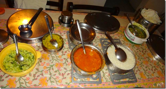 CS Experience India-Bangalore-Mamtha-Traditional-Home-cooked-South-Indian-Meal