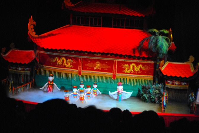 FotoFolio: Water Puppet Show, Ho Chi Minh, Vietnam
