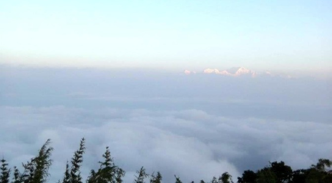 FotoFolio: Sunrise at Mt. Kanchenjunga (3rd highest peak in the world)