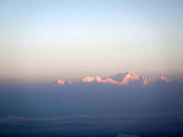 FotoFolio Darjeeling Kanchenjunga Mountain at Sunrise Close-up
