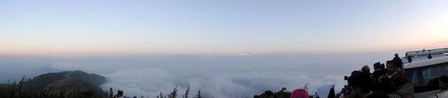 FotoFolio Darjeeling Kanchenjunga Mountain at Sunrise Panorama