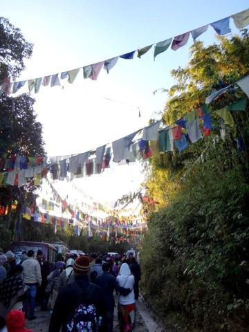 FotoFolio Darjeeling Tiger Hill Tibetan Buddhist Banderitas