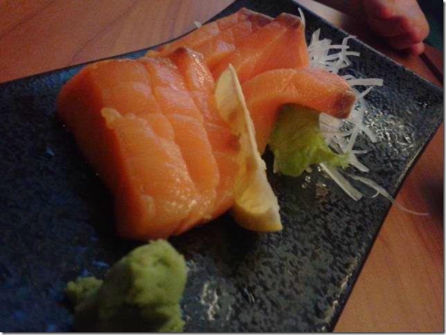 Pyrolympics 2013 - Salmon Sashimi