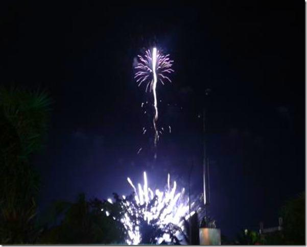 Pyrolympics 2013 - White Rocket