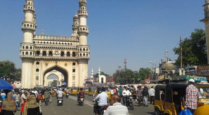 Viahera Vlogs: Charminar and Mecca Masjid at Hyderabad, Andra Pradesh, India
