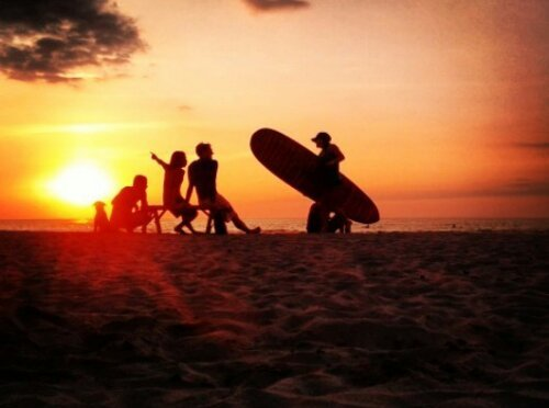 Surfing and Sunsets in San Juan, La Union