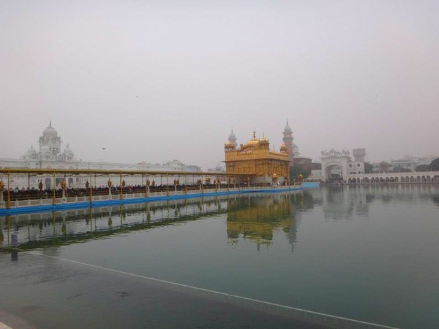 Amritsar - Golden Temple Bridge