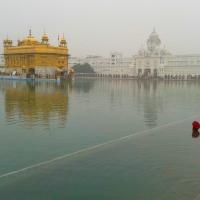 Entering the Sikh's Heaven (Golden Temple, Amritsar, Punjab)