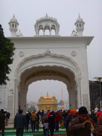 Amritsar - Golden Temple Entrance