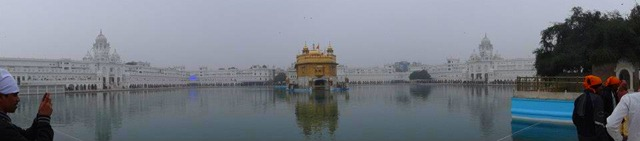 Amritsar - Golden Temple Panorama