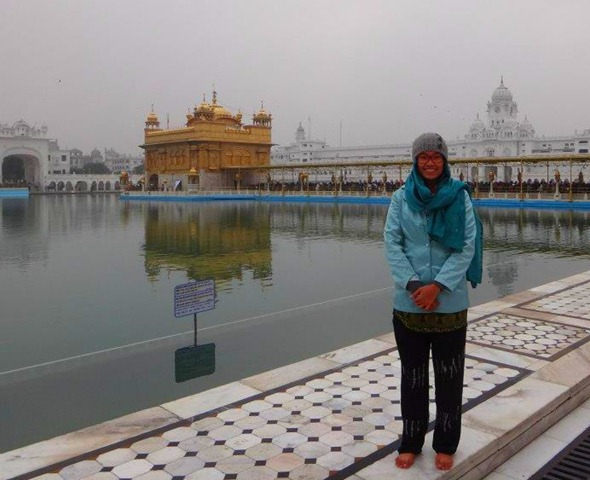 Amritsar - Golden Temple Souvenir Photo