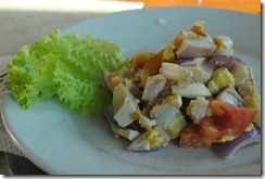 Day's Hotel Tagaytay - Breakfast Salted Egg Salad