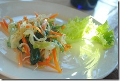 Day's Hotel Tagaytay - Breakfast Shredded Salad