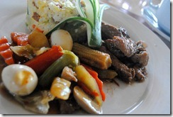 Day's Hotel Tagaytay - Chopsuey Yang Chow Fried Rice and Pork Adobo