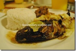 Day's Hotel Tagaytay - Dinner Pinaputok na Tilapia