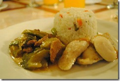 Day's Hotel Tagaytay - Fish Fillet Beef and Pork with Beans