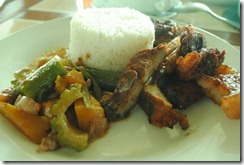 Day's Hotel Tagaytay - Lunch - Ginisang Gulay Grilled Pork Liempo