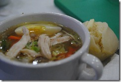 Day's Hotel Tagaytay - Merienda - Chicken Mami and Puto