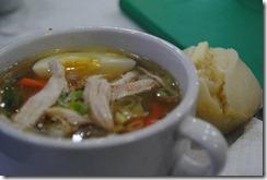 Day's Hotel Tagaytay - Merienda - Chicken Mami and Puto
