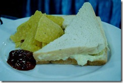 Day's Hotel Tagaytay - Sandwich and Nachos