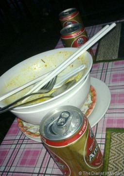 Foodie Friday - Goodness of Stall 29 - Angkor Beer