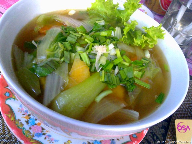 Foodie Friday - Goodness of Stall 29 - Vegetable Soup