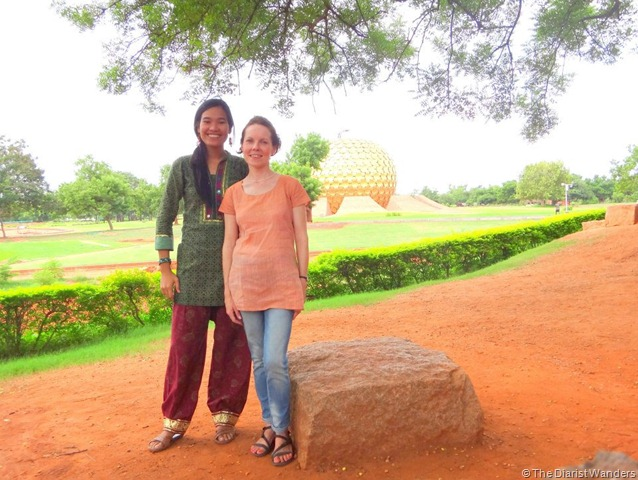 My 25th in Travel - August Matri Mandir at Auroville