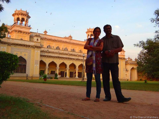 My 25th in Travel - December Chowmahallah Palace in Hyderabad